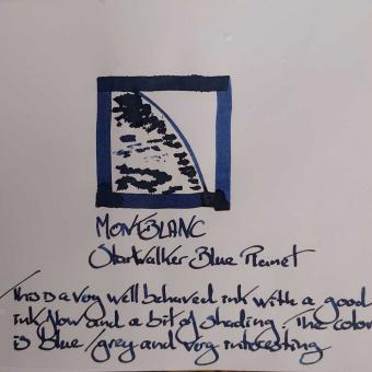 Montblanc Starwalker Blue Planet Tintenglas