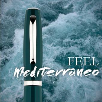 SCRIBO Feel Mediterraneo Kolbenfüllhalter