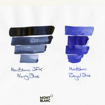 Montblanc Tintenfass JFK Navy Blue