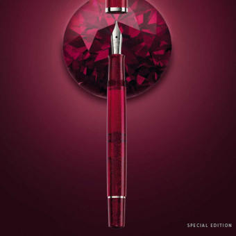 Pelikan Set Special Edition Classic M205 Star Ruby Kolbenfüllhalter