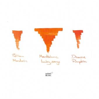 Montblanc Tintenfass Lucky Orange