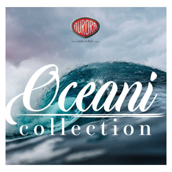 Aurora Ocean Collection Limited Edition Pacific Ocean Kolbenfüllhalter