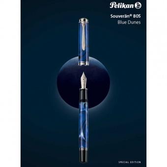 Pelikan Souverän M805 Special Edition Blue Dunes Kolbenfüllhalter
