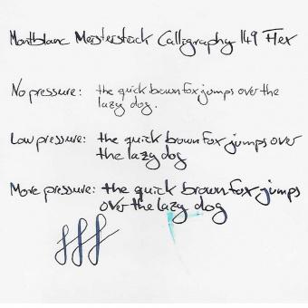 Montblanc Meisterstück Calligraphy 149 Flex Kolbenhalter