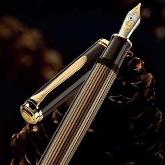 Pelikan Souverän M800 Special Edition Braun-Schwarz Kolbenfüllhalter