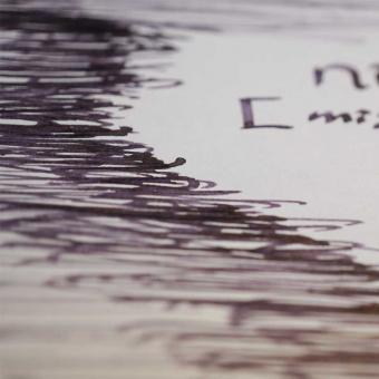 Fritz Schimpf niebla (misty violet) fountain pen ink