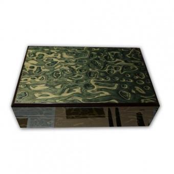 Sammler Schatulle für 22 Schreibgeräte 60s Green