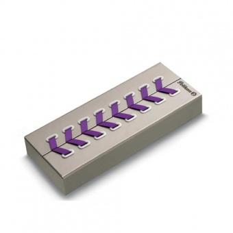 Pelikan Souverän Special Edition M600 Violett-Weiss Kolbenfüllhalter