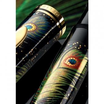 Pelikan Limited Edition Maki-e Peacock Kolbenfüllhalter