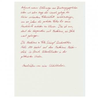 Montblanc x Fritz Schimpf Sonderedition Italic 100 Kolbenfüllhalter