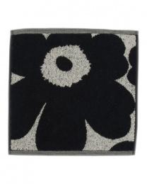 Marimekko Unikko Minituch Schwarz 30 x 30 cm