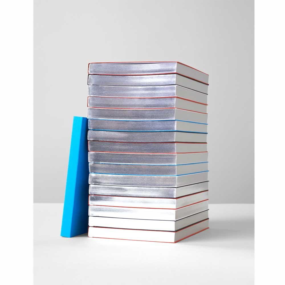 fantasticpaper notizbuch silberschnitt a5 blanko notebook. Black Bedroom Furniture Sets. Home Design Ideas